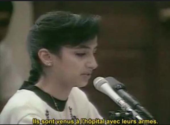 Nayirah, qui nage dans le complotisme depuis sa tendre enfance
