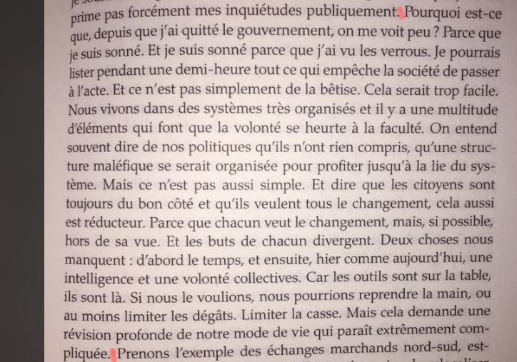 Pourquoi ne pas prendre les politiques pour des cons, par Nicolas Hulot