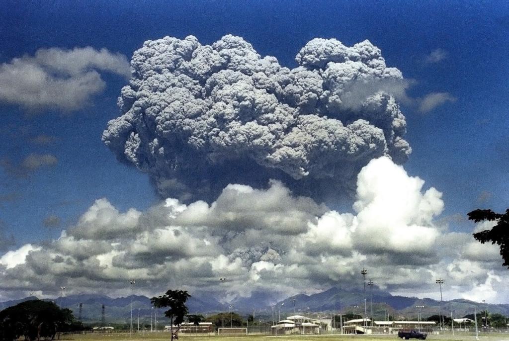 Eruption du mont Pinatubo