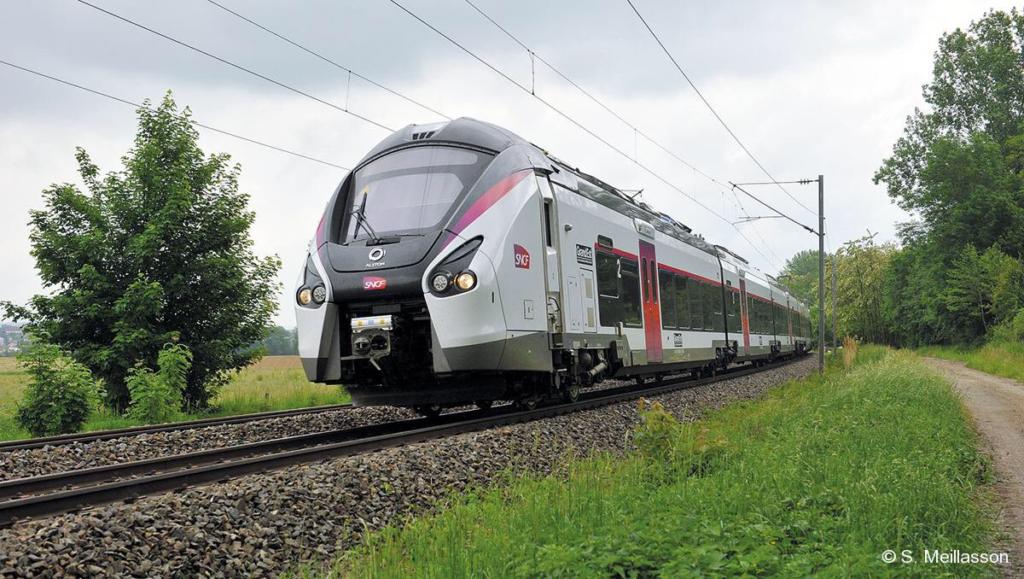 Photo train B85000