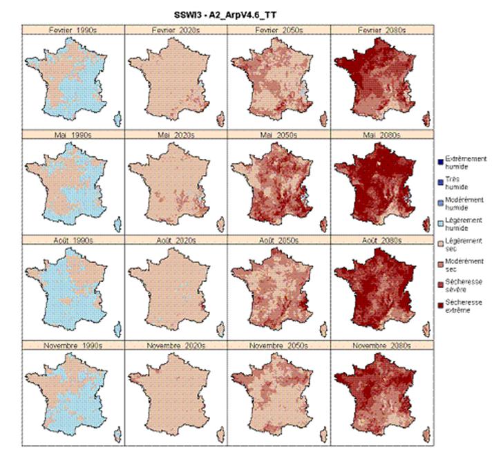 La France et la sécheresse dans le futur