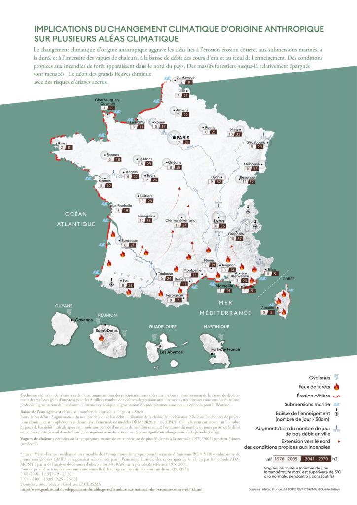 Carte du HCC sur l'adaptation