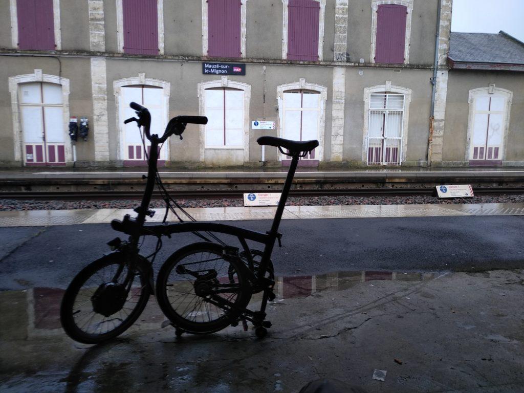 Les vélos de fonction de BL évolution qui font souvent sensation auprès des élus locaux. Crédits photo : Guillaume Martin.